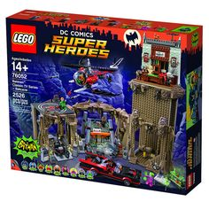 New LEGO 1966 Batman Batcave officially announced! [News]