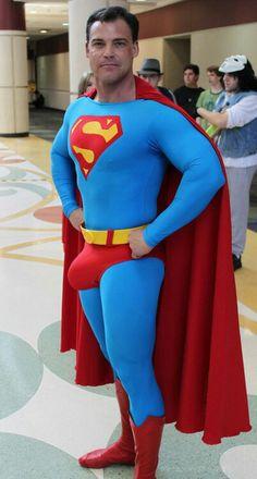Superhero costume porn
