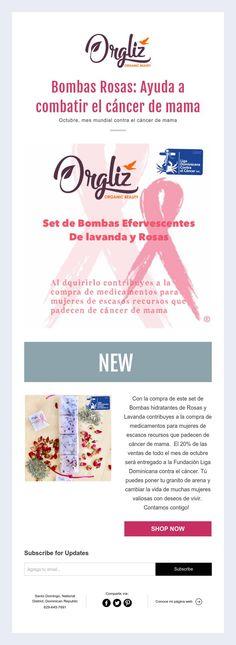Bombas Rosas: Ayuda a combatir el cáncer de mama  Octubre, mes mundial contra el cáncer de mama