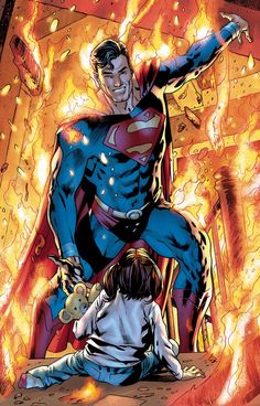 Superman variant cover by Bryan Hitch * Dc Comic Books, Comic Book Covers, Comic Book Characters, Comic Art, Iconic Characters, Arte Dc Comics, Marvel Comics, Marvel Vs, Mundo Superman