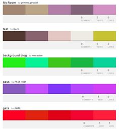 Pick Your Palette with the World's Most Colorful Website