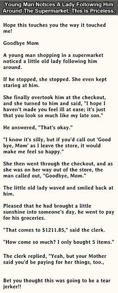"""""""Goodbye, Mom!"""""""