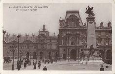 The Pavillon Turgot at the Louvre, Paris