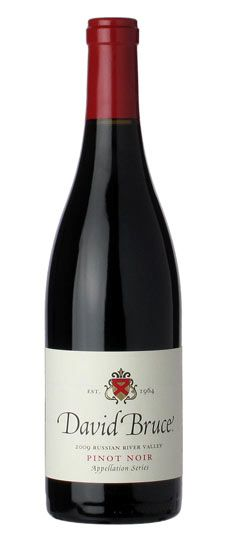 2009 David Bruce Russian River Valley Pinot Noir. Awesome Burgundy-like New World Pinot.
