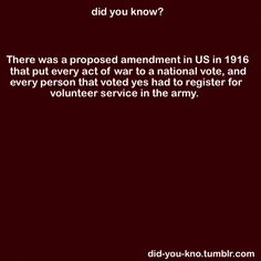 They should do this in Congress.