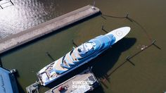 Aerial photos of Oceanco 110m Project Jubilee