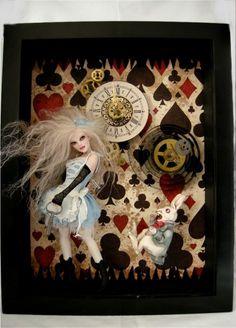 Tick Tock - Nicole West Fantasy Art