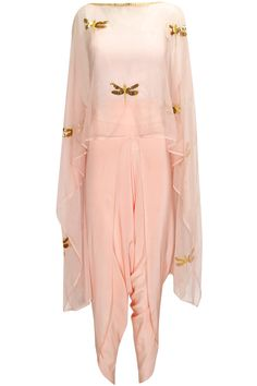Blush pink dragonfly cape available only at Pernia's Pop-Up Shop.
