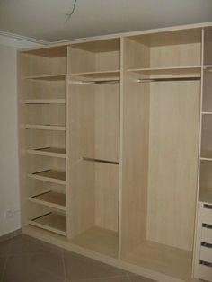 Master Bedroom Closet Layout Wardrobes 31 Ideas - Image 6 of 21 Bedroom Cupboard Designs, Bedroom Cupboards, Bedroom Closet Design, Master Bedroom Closet, Home Room Design, Bedroom Storage, Furniture Storage, Furniture Design, Bedroom Furniture