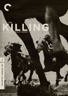 "Criterion Cover for Stanley Kubrick's ""The Killing"""