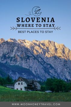 Find out where to stay in Slovenia in this unique accommodation guide. From farm stays to boutique guesthouses, we've selected the most memorable places to stay in Slovenia. #slovenia #julianalps #slovenianalps #farmstay #sloveniatravel #travel #logarvalley #lakebohinj Travel With Kids, Family Travel, Best Places To Travel, Places To Visit, Slovenia Travel, Julian Alps, Farm Stay, Europe Travel Guide, Top Destinations