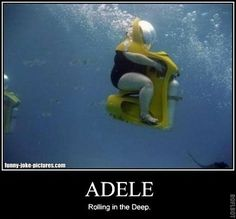 Not sure why this was so funny ? Lol but I laughed! Funny Shit, Haha Funny, Funny Cute, Funny Jokes, Hilarious, Funny Stuff, Funny Ads, Lol, Adele Rolling