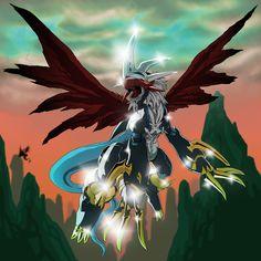 インペリアルドラモン: ドラゴンモード (Imperialdramon: Dragon Mode) by ゲル種(本物)デジタイズ