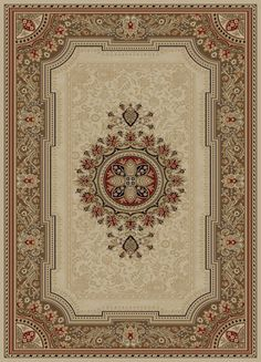 Ankara Clic 6522 Ivory Area Rug By Concord Global Trading The Fine Selection Of European And Fl Designs Would Bring A Flavor To Any Decor