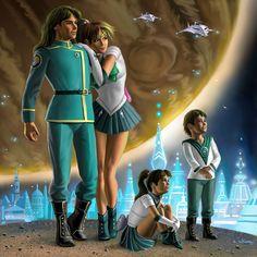 Jupiter and Family by stardriv.deviantart.com on @deviantART