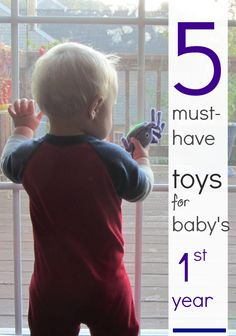 5 must have toys for the baby first year