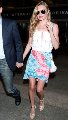 Kate Bosworth Strikes Again with Her Flawless Airport Style - May 27, 2014 from InStyle.com