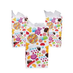 Sweet Treats Treat Bags - OrientalTrading.com