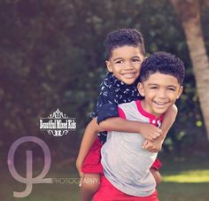 Dominic - 5 Years & Quincy - 3 Years • African American & Mexican ❤❤ FOLLOW @beautifulmixedkids on instagram WWW.STYLISHKIDSAPPAREL.COM