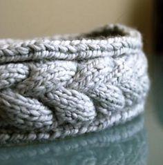 Ravelry: Winter Braid Headband pattern by Hannah Jeanne