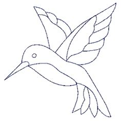 Free Hummingbird Quilt Patterns | Quilting Designs-Holice Turnbow