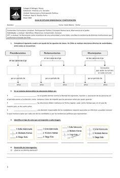 Colegio El Refugio. Penco                     Subsector: Historia y Cs. Sociales                     Unidad: Democracia y ...