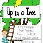 """great spring unit for prek+, early math and literacy games to go with Oliver Jeffer's book """"Stuck"""", tree, spring, forest, kite theme..."""