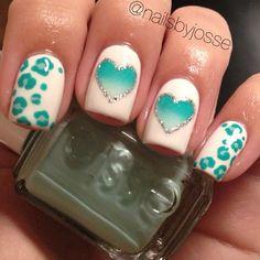 heart by nailsbyjosse #nail #nails #nailart