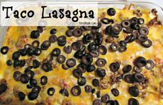 This delicious taco lasagna is super simple to make. Add some excitement to your lasagna!  http://tobethode.com