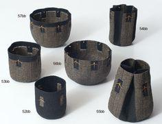 Barberry Basket series, by Birgit Birkkjaer. - Linen and barberry, 2011