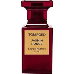 Tom Ford -Jasmin Rouge:ベルガモットやマンダリンのフルーティーさと、ブルーム・フラワーやジャスミンのフローラル感をミックスさせたこのパルファムは、ドライでスパイシーな香り。