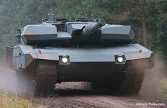 レヴォリューション。ドイツで開発されたレオパルドⅡ戦車のアップグレードパッケージの一つ。市街戦と低強度紛争向きのパッケージでAMAP(先進的モジュール装甲防御)を採用している。120mm滑腔砲などを搭載して重量は60t。