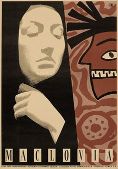 Designer: Fangor Wojciech  Title: Maclovia. 1955. Film: Mexico.
