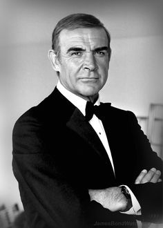 "#SeanConnery in #JamesBond ""Never say never again"" 1983 -- #BowTie"