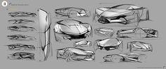 Short term project: Lamborghini concept design on Behance