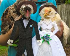 Hey, I found this really awesome Etsy listing at https://www.etsy.com/listing/168297031/bride-and-groom-chicken-costumes!!! love it!!!!