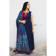 Designed by @aditi7010 , this elegant anarkali suit with indigo plazo and cotton dupatta gives an awe inspiring look. The cut and the flow of the fabric gives you a majestic look. Add on a silver neck piece and earrings to complement your indian attire.❤ #styleblogger #styleblog #photooftheday #styleoftheday #stylegram #love #fallinginlovewith #likeit #instalike #happiness #smile #szafa #couture #szafacouture #delhi #elite #stylish #fashion #fashionista #fashionblogger #popxodaily #popxo