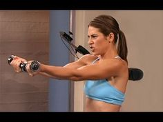 Jillian Michaels: No More Trouble Zones Workout- Circuit 1 is an intense total body-sculpting exercise circuit that is designed to target stubborn problem areas through Jillian's surefire formula that combines dynamic upper and lower body-toning moves that will obliterate fat and build muscle. Grab a light set of hand weights and get ready to sw...