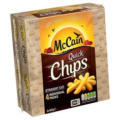 Mccain Quick Chips 4 X 100G - Groceries