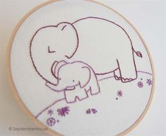 Animal Babies Hand Embroidery Pattern Collection