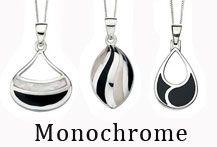 Black and White Jewellery Designs