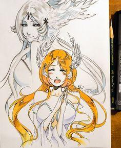 Ulquiorra And Orihime, Bleach Couples, Bleach Anime, Nostalgia, Princess Zelda, Manga, Oc, Cartoons, Gaming