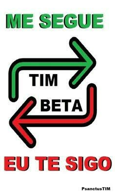 Beta Beta, Tim Beta, Like4like, Flavio, Twitter, Pin Pin, Jokers, Bora Bora, Travel