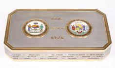 Bulgari U.S. Bicentennial Commemorative Box, 18K