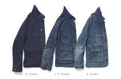 Apolis Indigo Wool Chore Jacket – Revolver