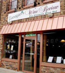 Flanagan's Wine Review - The first place that I tried carpaccio.  Great food in downtown Appleton, WI.