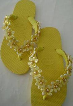 Chinelo decorados - Blog Pitacos e Achados - Acesse: https://pitacoseachados.com – https://www.facebook.com/pitacoseachados – https://plus.google.com/+PitacosAchados-dicas-e-pitacos #pitacoseachados