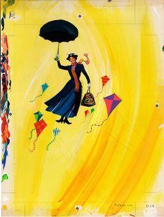 Mary Poppins #illustration