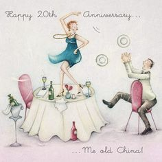 Happy 20th Anniversary by Berny Parker