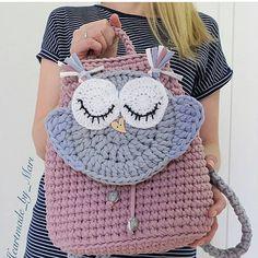 De Croche De Croche barbante De Croche com grafico De Croche de mao De Croche festa - Bolsa De Crochê Crochet Backpack, Crochet Tote, Crochet Handbags, Crochet Purses, Crochet Penguin, Crochet Teddy, Love Crochet, Crochet Baby, Crochet Market Bag